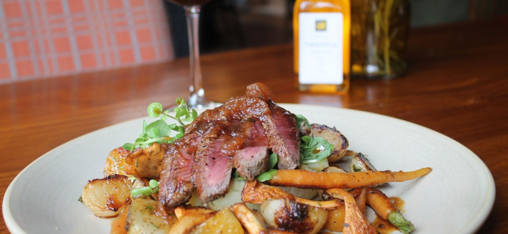 Seasonal dining at The Exchequer