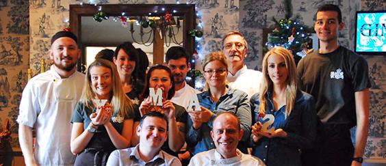 Celebrate the festive season at The Exchequer, Crookham Village