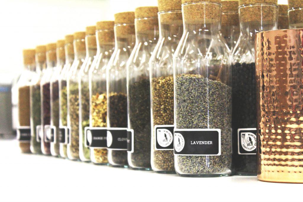 Winchester Distillery botanicals's