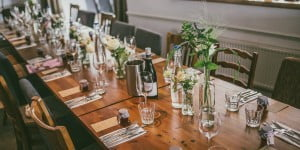 Ready for a wedding reception